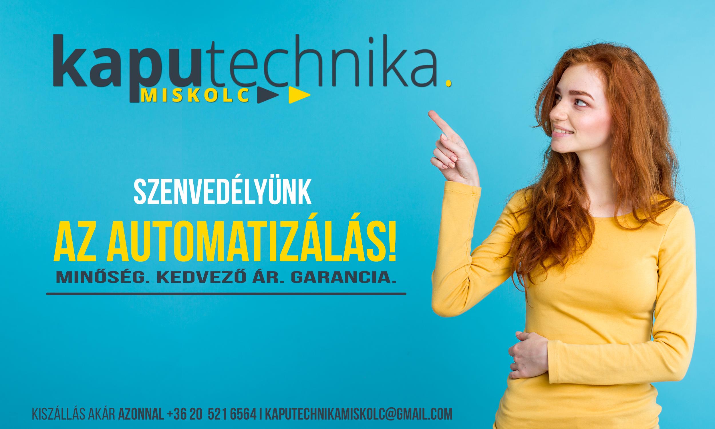 Kaputechnika Miskolc bolt hirdetés